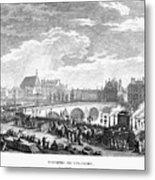 French Revolution, 1791 Metal Print