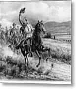 George Armstrong Custer (1839-1876) Metal Print