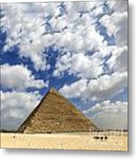Great Pyramid Of Egypt Metal Print