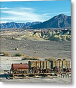 Harmony Borax Works Death Valley National Park Metal Print