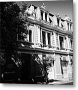 headquarters of the fire department of Santiago Chile Metal Print