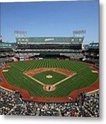 Houston Astros Vs. Oakland Athletics Metal Print