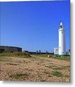 Hurst Point Lighthouse Metal Print