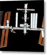 International Space Station Metal Print