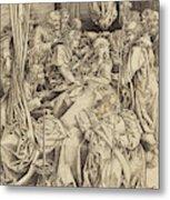 Israhel Van Meckenem German, C. 1445 - 1503 Metal Print