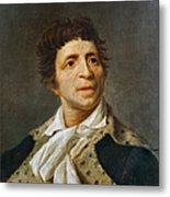 Jean-paul Marat (1743-1793) Metal Print