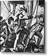John Paul Jones (1747-1792) Metal Print