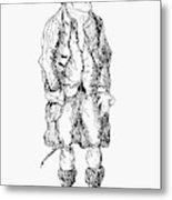 John Wilkes (1727-1797) Metal Print