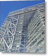 Low Angle View Of An Office Building Metal Print