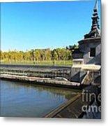 Madrid River Park Metal Print