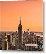 Manhattan - New York City - Usa Metal Print
