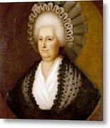 Martha Washington (1731-1802) Metal Print