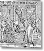 Mary, Queen Of Scots (1542-1587) Metal Print
