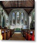Minster Abbey Metal Print