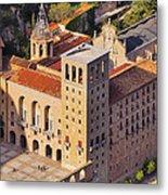 Monastery In Montserrat Metal Print