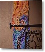 Mosaic Doorway Metal Print