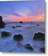 Muir Beach Sunset Metal Print