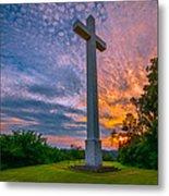 Nelsonville Cross Metal Print