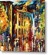 Night City  Metal Print