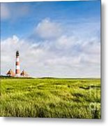 North Sea Metal Print