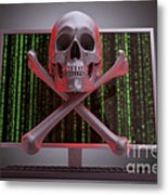 Online Security Metal Print