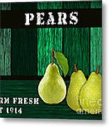 Pear Farm Metal Print