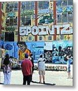 5 Pointz Graffiti Art 3 Metal Print