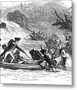 Quebec Expedition, 1775 Metal Print