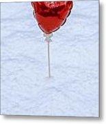 Red Balloon Metal Print by Joana Kruse