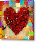 Roses Collection Metal Print