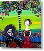 Serenata Metal Print by Pristine Cartera Turkus