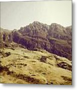 Slope Of Hills In The Scottish Highlands Metal Print