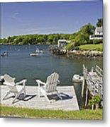 South Bristol On The Coast Of Maine Metal Print