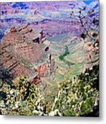 South Rim Of The Grand Canyon Metal Print