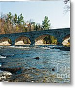 5-span Bridge Metal Print