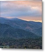 Sunrise In Cades Cove Metal Print