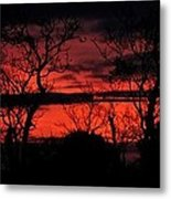 Sunrise Over The Fields Of Athenry Metal Print