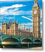 The Big Ben - London Metal Print
