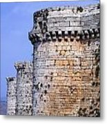 The Crusader Castle Krak Des Chevaliers Syria Metal Print