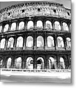 The Majestic Coliseum - Rome Metal Print