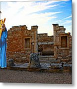 The Palaestra - Apollo Sanctuary Metal Print