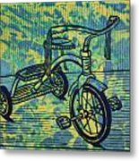 Tricycle Metal Print