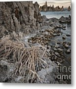 Tufa Formations, Mono Lake, Ca Metal Print