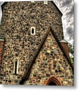 Uppsala Church - Gamia - Uppsala Sweden Metal Print