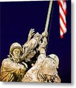 Us Marine Corps Memorial Metal Print