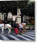 Views From Sorrento Italy Metal Print