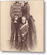 William II Of Germany (1859-1941) Metal Print