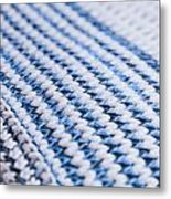 Wool Pattern Metal Print