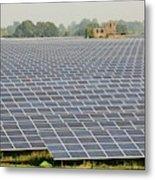Wymeswold Solar Farm Metal Print