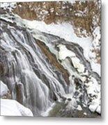 Yellowstone Falls Metal Print by David Yack
